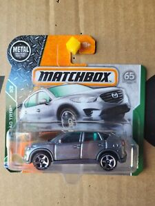 MATCHBOX 2018 - MAZDA CX5 [GREY] NEAR MINT CARD GOOD COMBINED POSTAGE