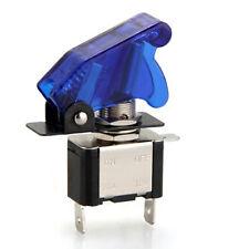 LED Blue Light Missile Style SPST Toggle Flick Switch 12V 20A ON/OFF Car Boat