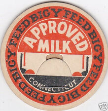 MILK BOTTLE CAP. BIG 'Y' FEED. CT. DAIRY