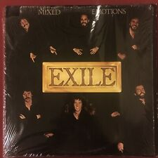 EXILE - MIXED EMOTIONS - Original 1978 LP On Warner Bros - MINT IN SHRINK