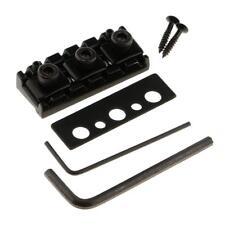 NEW LOCKING NUT 42,5mm NOIR avec réglage hauteur pour manches de guitare