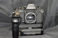 Pellicola F-1 Canon 35mm Fotocamera SLR Nero Corpo con azionamento del motore AE FN Power Pack