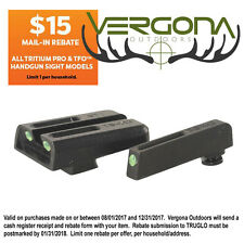New 2016 Truglo TFO Tritium Sight For Glock 42 & 43 TG131GT1A