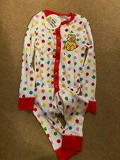George Pudsey Bear all in one nightwear Age 5-6 years - BNWT