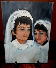 Wedding painting. Original oil, signed, and in superb condition.