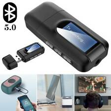 Bluetooth Receiver Transmitter Wireless RCA Aux Audio HiFi Music Adapter 2 IN 1