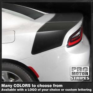 Dodge Charger 2015-2019 DAYTONA Style Rear Stripes Decals (Choose Color)