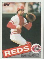 FREE SHIPPING-MINT-1985 Topps #28 Dann Bilardello Reds PLUS BONUS CARDS
