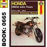 Honda CB650 Fours Haynes Manual 1978-84 SOHC 626cc Workshop Manual