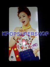 Dal Shabet Bling Bling Ji Yul Photocard Great Condition 3rd Mini Album