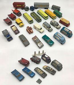 60s Joblot Matchbox Regular Wheels Scrap Spares & Repairs Commer Ford