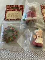 Wang/'s Mini Muslin Doll Santa Traditional BDB 2058 Just For Keeps