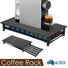 Nespresso Coffee Capsules Holder Rack Drawer Storage Organizer Stand 40 Pod