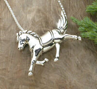 HORSE & WESTERN JEWELLERY JEWELRY  DUAL PURPOSE  HORSE  BROOCH NECKLACE