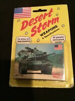DESERT STORM CARDS  DSI  1991 Weapons & Specificarions  50 Cards  Vintage  New.