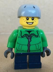 LEGO ®-Minifigur Town City Skater Boy Zipper aus Set 4428 60023 - cty0336 cty336