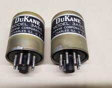 Vintage DuKane Model 3A55 Mic Phono Tube amp Input Transformers, Pair