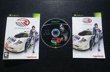 JEU Microsoft XBOX R:RACING (Namco, courses auto, COMPLET, envoi suivi)