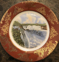 Vintage Niagara Falls Souvenir Plate Prospect Point Made in Germany (US Zone)