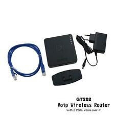 WIFI VoIP adapter GT202 VoIP wireless Router with 2 ports Voice over IP gateway