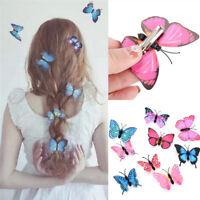 5x papillon cheveux clips nuptiales accessoires de mariage photographie costumBB