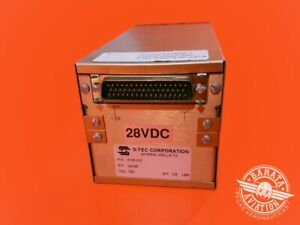 S-TEC Autopilot System 50 Control Head 28 VDC P/N 0132-0-0