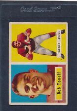 1957 Topps #148 Bob Toneff 49ers Fair 57T148-42016-1