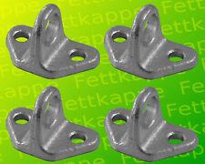 1-Loch Trennwandhalter für Pferdeboxen Pferdestall Pferdeanhänger