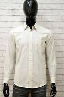 Camicia Uomo MARLBORO CLASSICS Taglia M Maglia Shirt Cotone Manica Lunga a Righe