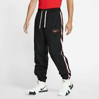 Nike Throwback Courtside Woven Pant Mens Bottoms Black Size L Sportswear