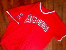 Angels 5XL Jersey size 60 NWT 100% what the players wear!!!! AUTHENTIC Red
