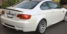BMW E82 1 series coupe- Unpainted Trunk Lip Spoiler - M3 Style