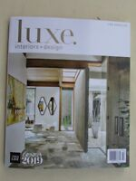 Magazine - Interior Design - Luxe Interiors + Design - January / February 2019