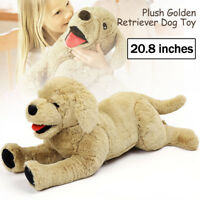 Plush Dog Stuffed Animals Labrador Retriever Puppy Doll Pillow Birthday Gift Toy