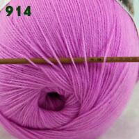 Sale 1 Skein x50gr LACE Soft Crochet Acrylic Wool Cashmere hand knitting Yarn 14