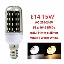 AU E27 B22 E14 GU10 G9 4014SMD LED LAMP CORN BULB LIGHT 220-240V WARM COOL WHITE