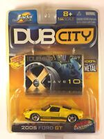 Jada Dub City 05 2005 Ford GT Yellow Special Edition Wave 10 1/64 Yellowed Pack