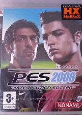 "JEU PS3 ""Pro Evolution Soccer 2008"" (PES 2008) Konami NEUF SOUS BLISTER"