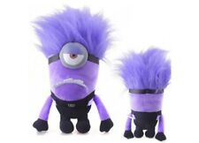 """Purple Minion 1 and  2 Eyes 10"""" Plush *you will receive 1 at random*"""