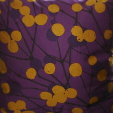 "Marimekko Finland Lumimarja cushion pillow cover, handmade, 20"" Christmas purple"