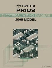 2005 Toyota Prius Wiring Diagrams Schematics Layout Factory OEM