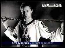 2012-13 Score Team Future Erik Karlsson #TS4