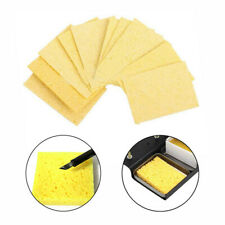 10Pcs 3.5*4.5cm High Temperature Sponge Clean Clear Tin Welding Soldering Iron E