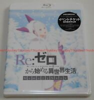 New Re:Zero Starting Life in Another World Memory Snow Blu-ray Japan ZMXZ-12942
