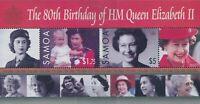Samoa 2006 SG1181 QEII 80th Birthday MS MNH