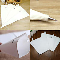 Reusable Cloth Pastry Bag Icing Piping Bags Cream Cake Bake Decoration 3 SizeVE