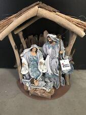 Christmas In July /Holy Family 32 Cm Nativity Scene Religious