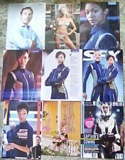 Star Trek Discovery Cast Clippings 38 Page Sonequa Martin-Green Michelle Jason +
