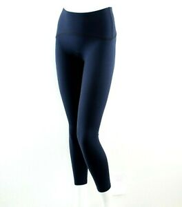 Spanx Leggings Booty Boost Active Full-Length Compression 50124 Lapis Night Navy