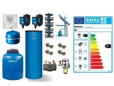 Buderus Ölbrennwert GB125 22 kW Warmwasserspeicher 200 L RC200 Abgassystem GA-K
